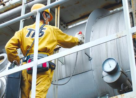 付帯工事・前処理なく金属腐食をスクリーニング